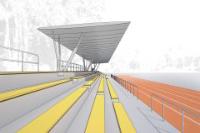 Tribüne Ernst-Reuter-Sportfeld, Berlin-Zehlendorf - Kusus + Kusus Architekten, Berlin